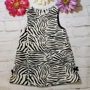 Gymboree Girls Zebra Dress